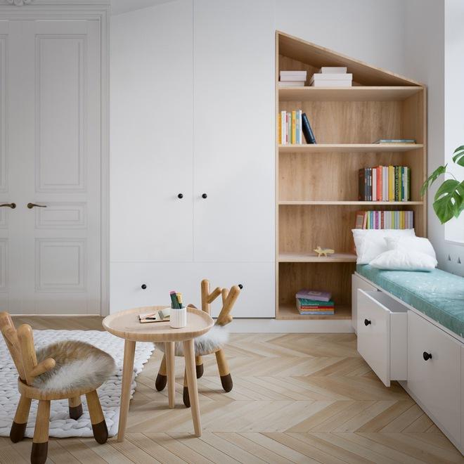 Những mẫu phòng ngủ đẹp mê ly như thế giới thần kỳ dành cho trẻ nhỏ - Ảnh 26.