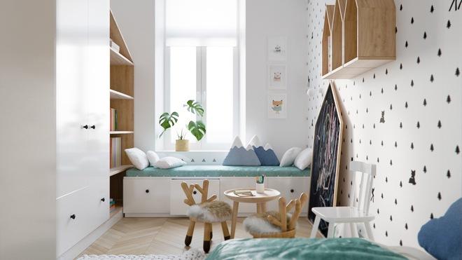 Những mẫu phòng ngủ đẹp mê ly như thế giới thần kỳ dành cho trẻ nhỏ - Ảnh 27.