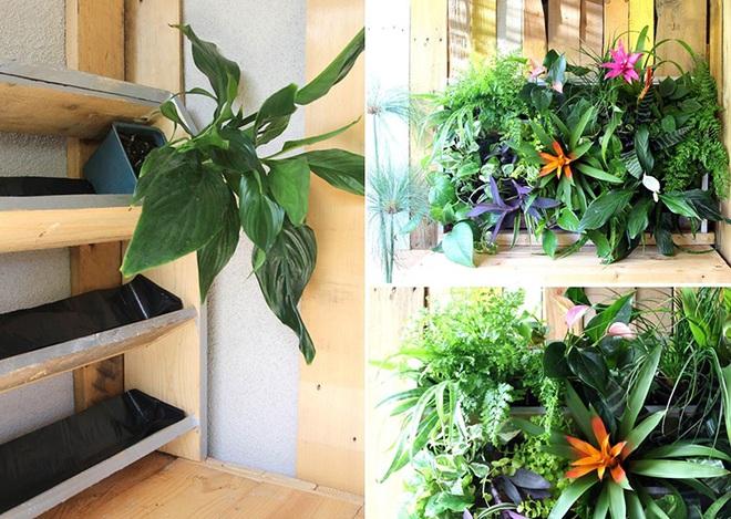 Những cách đơn giản để tạo nên khu vườn đẹp tuyệt từ gỗ pallet - Ảnh 3.