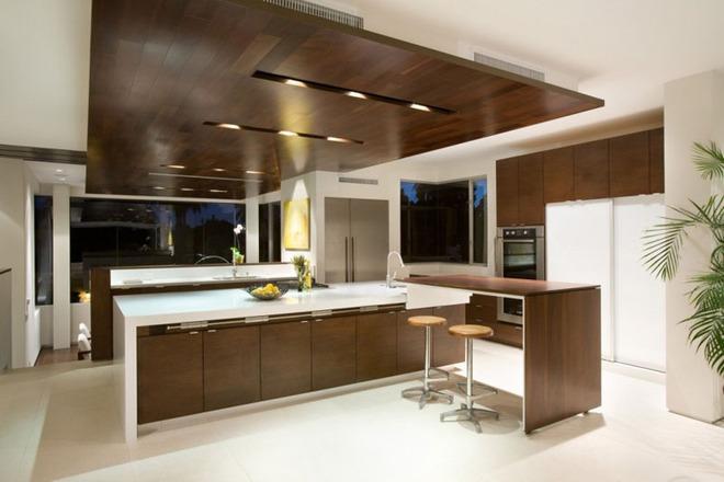 Mãn nhãn với những căn bếp đẳng cấp sử dụng chất liệu gỗ sẫm màu - Ảnh 6.