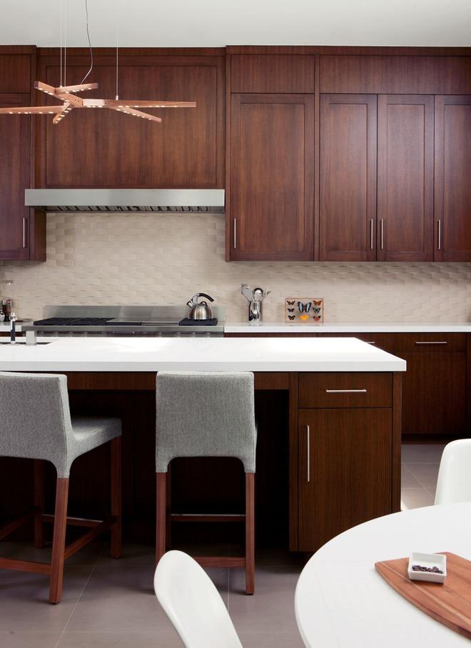 Mãn nhãn với những căn bếp đẳng cấp sử dụng chất liệu gỗ sẫm màu - Ảnh 7.