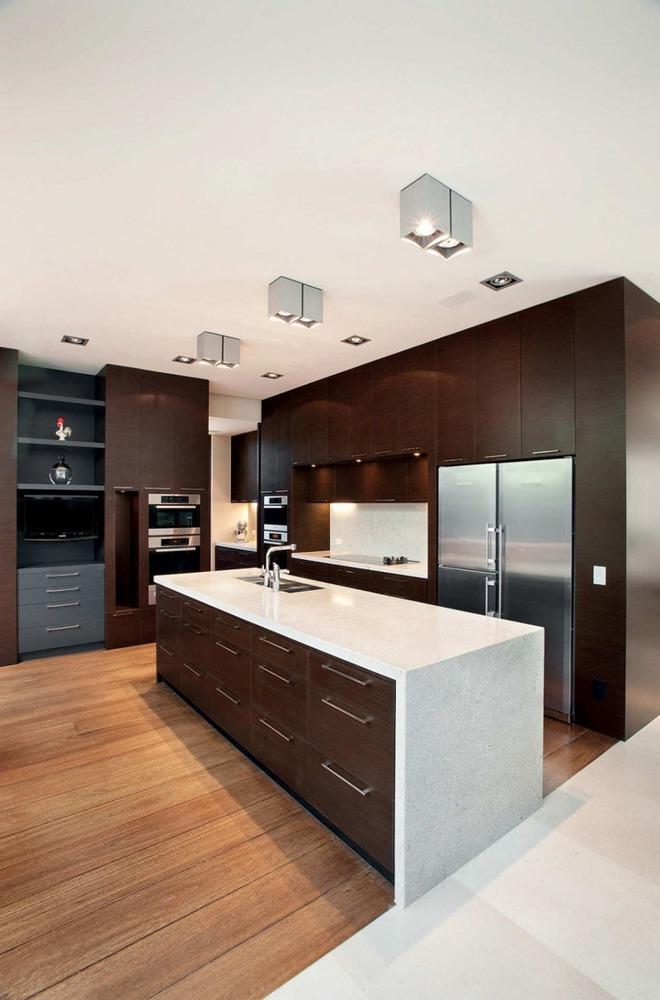Mãn nhãn với những căn bếp đẳng cấp sử dụng chất liệu gỗ sẫm màu - Ảnh 8.