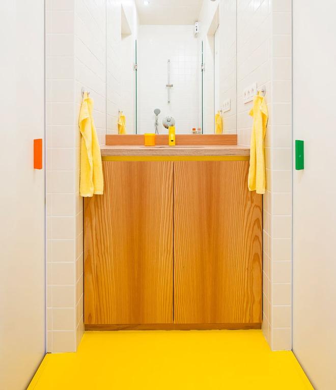 Những căn phòng tắm với sắc vàng tươi khiến bạn thấy sảng khoái ngay khi vừa bước vào - Ảnh 5.