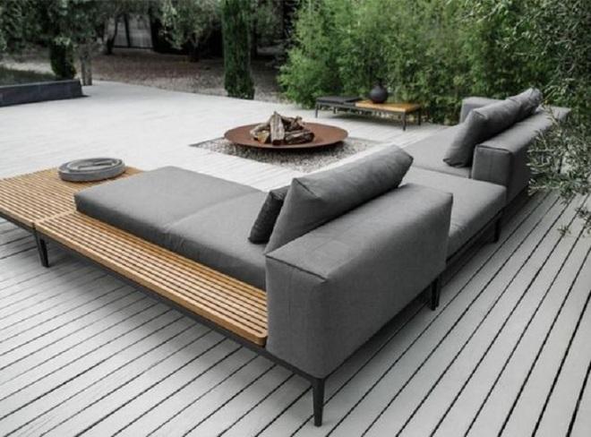 8 mẫu ghế sofa ngoài trời rất tiện nghi và đẹp mắt - Ảnh 1.