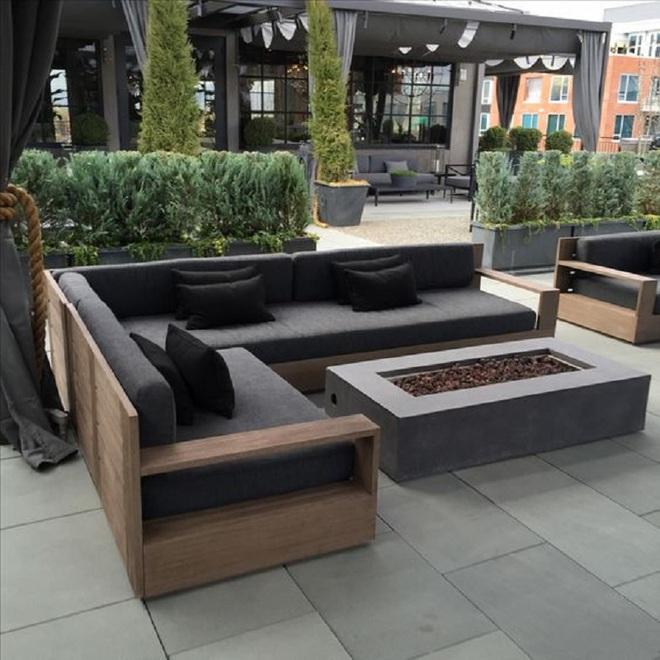 8 mẫu ghế sofa ngoài trời rất tiện nghi và đẹp mắt - Ảnh 2.