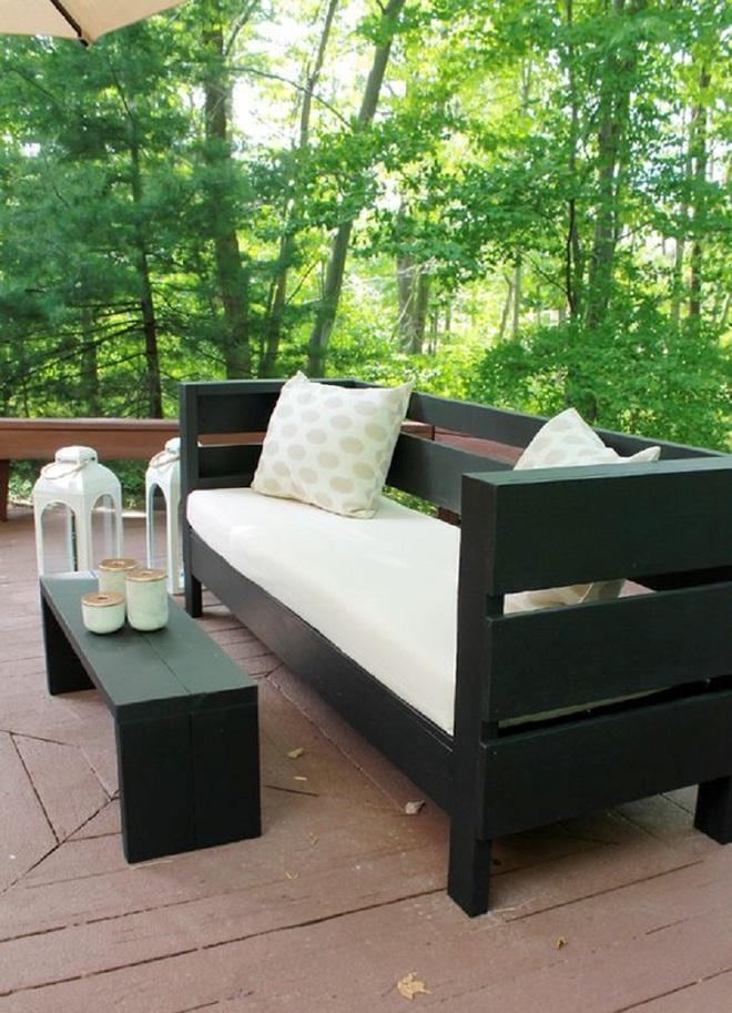 8 mẫu ghế sofa ngoài trời rất tiện nghi và đẹp mắt - Ảnh 6.