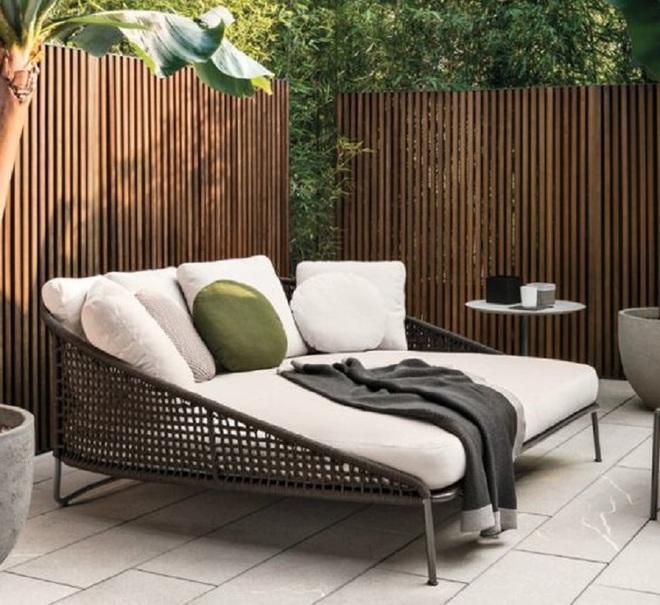 8 mẫu ghế sofa ngoài trời rất tiện nghi và đẹp mắt - Ảnh 7.