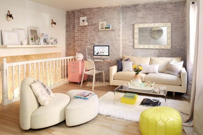 Cách phối gam màu pastel cho phòng khách mang phong cách Scandinavia chuẩn không cần chỉnh - Ảnh 3.