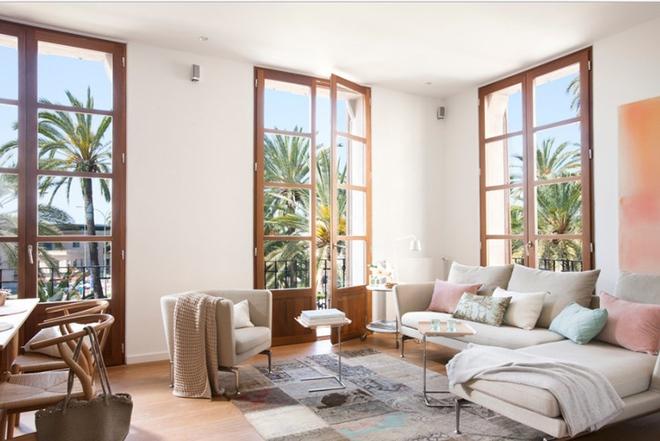 Cách phối gam màu pastel cho phòng khách mang phong cách Scandinavia chuẩn không cần chỉnh - Ảnh 8.