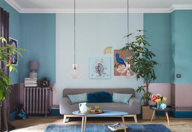 Cách phối gam màu pastel cho phòng khách mang phong cách Scandinavia chuẩn không cần chỉnh - Ảnh 9.