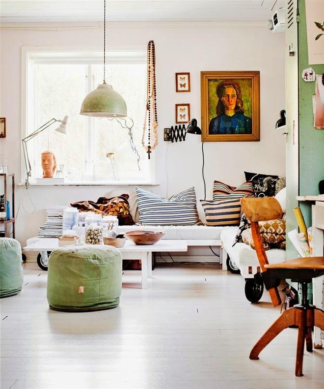 Ngôi nhà đẹp nghệ thuật khi chọn lựa trang trí phong cách Scandinavian làm chủ đạo - Ảnh 2.