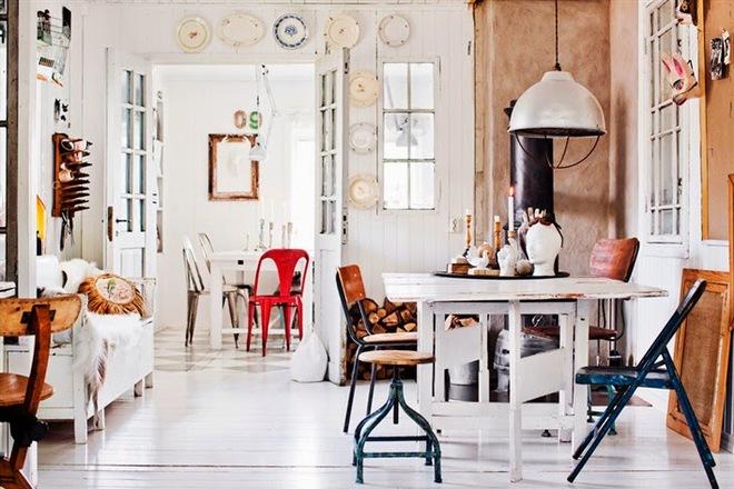 Ngôi nhà đẹp nghệ thuật khi chọn lựa trang trí phong cách Scandinavian làm chủ đạo - Ảnh 3.