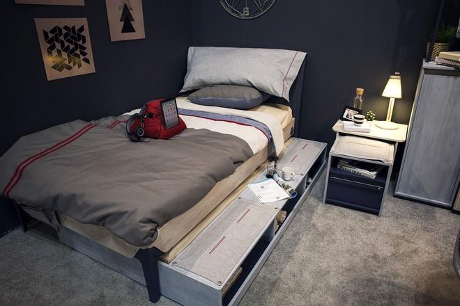 3 cách bố trí nội thất cực hay cho phòng ngủ chật - Ảnh 3.