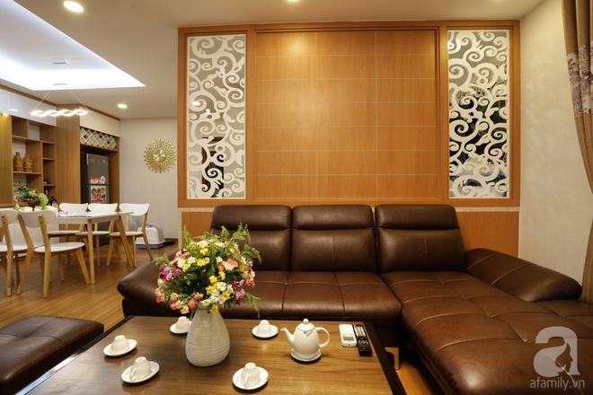 Căn hộ 100m² có những khoảng nhỏ thoáng mát của chủ nhà yêu màu vàng ở Hà Nội - Ảnh 4.