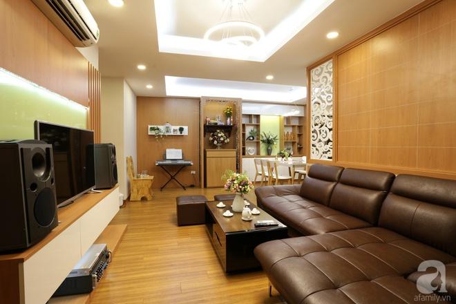 Căn hộ 100m² có những khoảng nhỏ thoáng mát của chủ nhà yêu màu vàng ở Hà Nội - Ảnh 5.