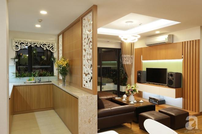 Căn hộ 100m² có những khoảng nhỏ thoáng mát của chủ nhà yêu màu vàng ở Hà Nội - Ảnh 8.