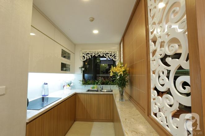 Căn hộ 100m² có những khoảng nhỏ thoáng mát của chủ nhà yêu màu vàng ở Hà Nội - Ảnh 9.
