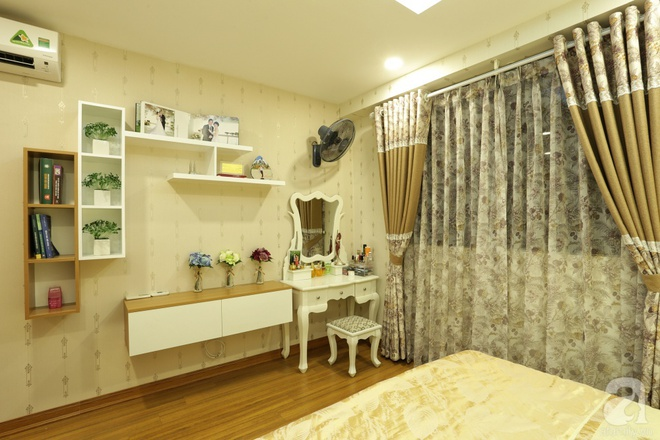 Căn hộ 100m² có những khoảng nhỏ thoáng mát của chủ nhà yêu màu vàng ở Hà Nội - Ảnh 12.