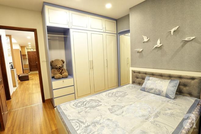 Căn hộ 100m² có những khoảng nhỏ thoáng mát của chủ nhà yêu màu vàng ở Hà Nội - Ảnh 16.