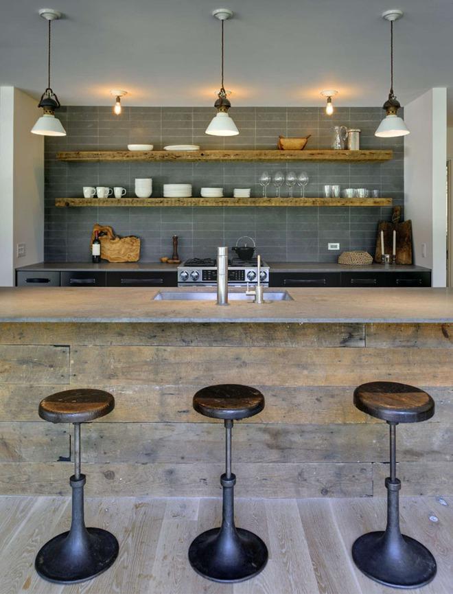 19 ví dụ minh chứng rằng một căn bếp hoàn hảo không thể nào thiếu được những chiếc kệ mở - Ảnh 5.
