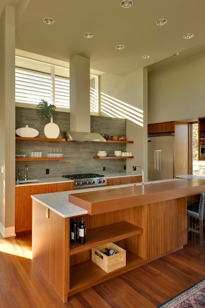 19 ví dụ minh chứng rằng một căn bếp hoàn hảo không thể nào thiếu được những chiếc kệ mở - Ảnh 6.