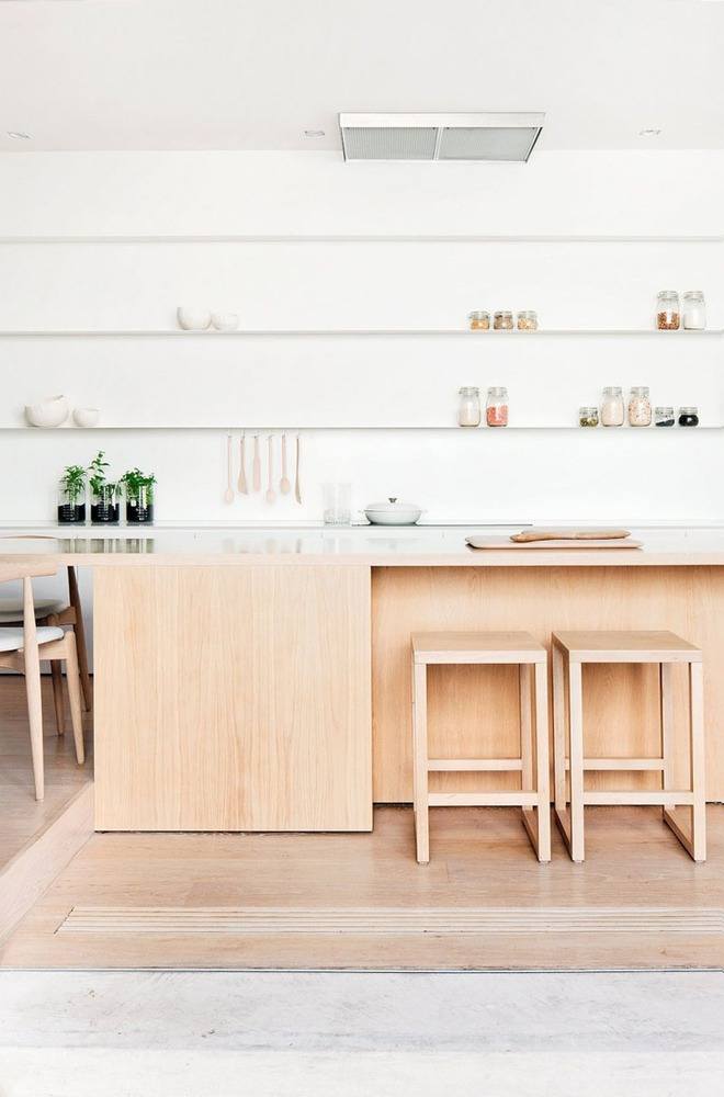 19 ví dụ minh chứng rằng một căn bếp hoàn hảo không thể nào thiếu được những chiếc kệ mở - Ảnh 7.