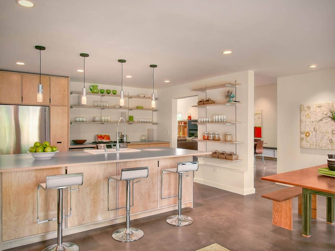 19 ví dụ minh chứng rằng một căn bếp hoàn hảo không thể nào thiếu được những chiếc kệ mở - Ảnh 12.