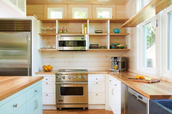 19 ví dụ minh chứng rằng một căn bếp hoàn hảo không thể nào thiếu được những chiếc kệ mở - Ảnh 13.