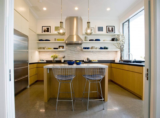 19 ví dụ minh chứng rằng một căn bếp hoàn hảo không thể nào thiếu được những chiếc kệ mở - Ảnh 16.