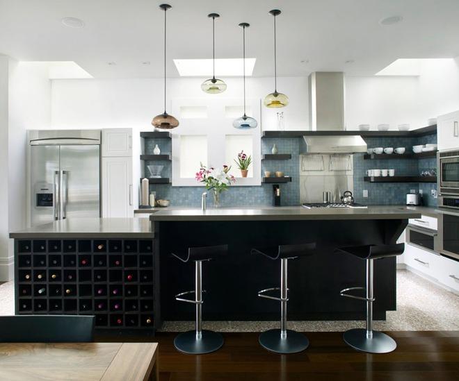 19 ví dụ minh chứng rằng một căn bếp hoàn hảo không thể nào thiếu được những chiếc kệ mở - Ảnh 17.