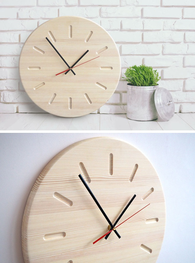 14 mẫu đồng hồ đẹp hết ý dùng để trang trí nội thất - Ảnh 1.