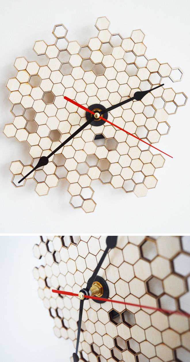 14 mẫu đồng hồ đẹp hết ý dùng để trang trí nội thất - Ảnh 3.