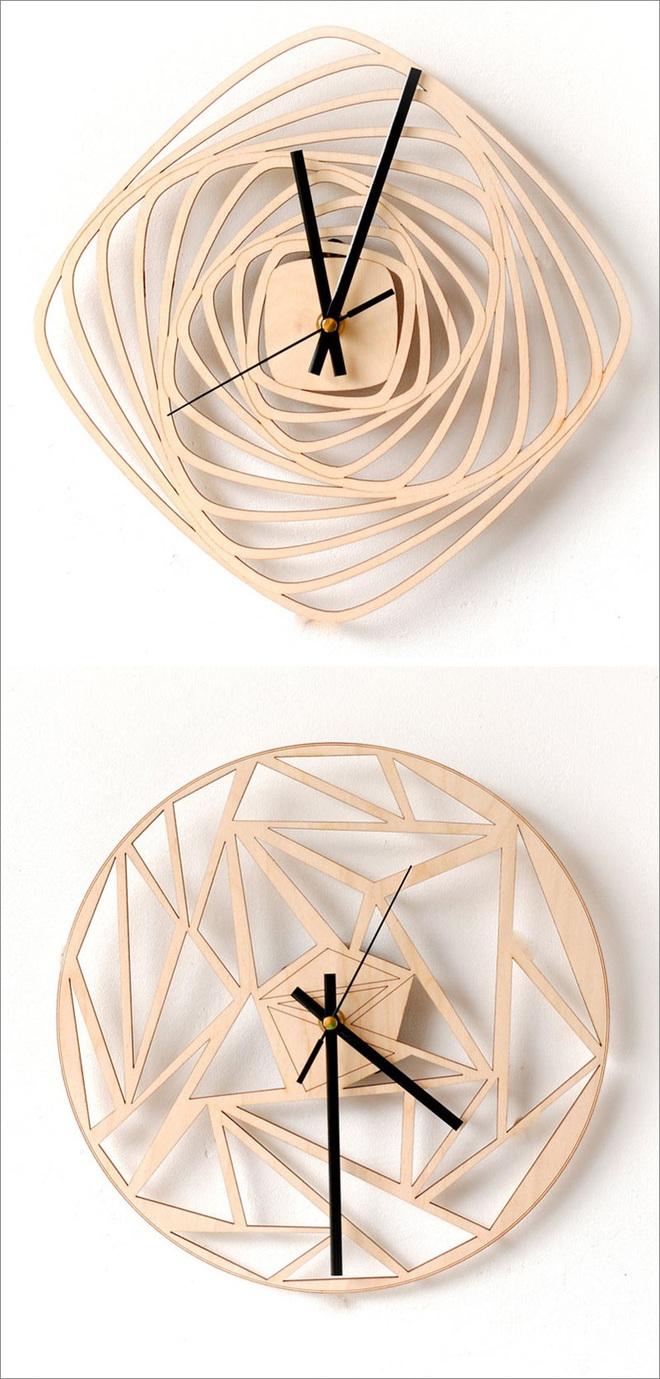14 mẫu đồng hồ đẹp hết ý dùng để trang trí nội thất - Ảnh 5.