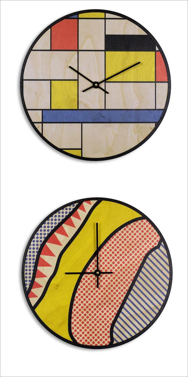 14 mẫu đồng hồ đẹp hết ý dùng để trang trí nội thất - Ảnh 6.