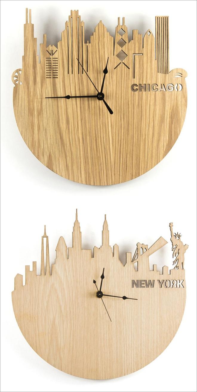 14 mẫu đồng hồ đẹp hết ý dùng để trang trí nội thất - ảnh 7