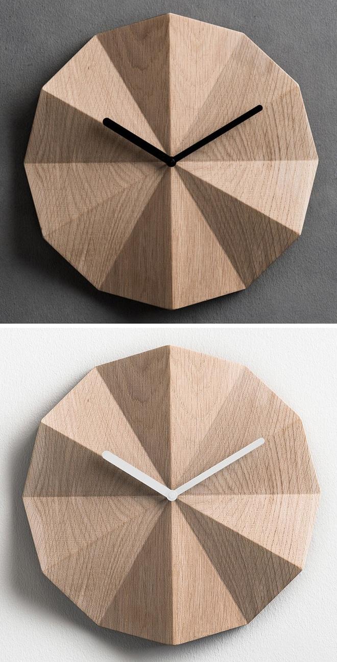 14 mẫu đồng hồ đẹp hết ý dùng để trang trí nội thất - Ảnh 8.