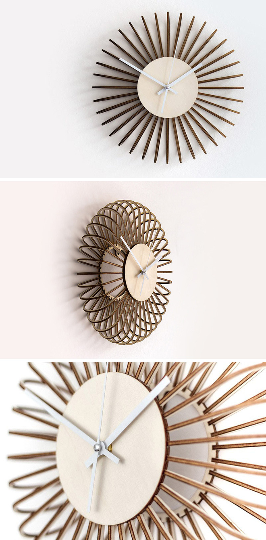 14 mẫu đồng hồ đẹp hết ý dùng để trang trí nội thất - Ảnh 10.