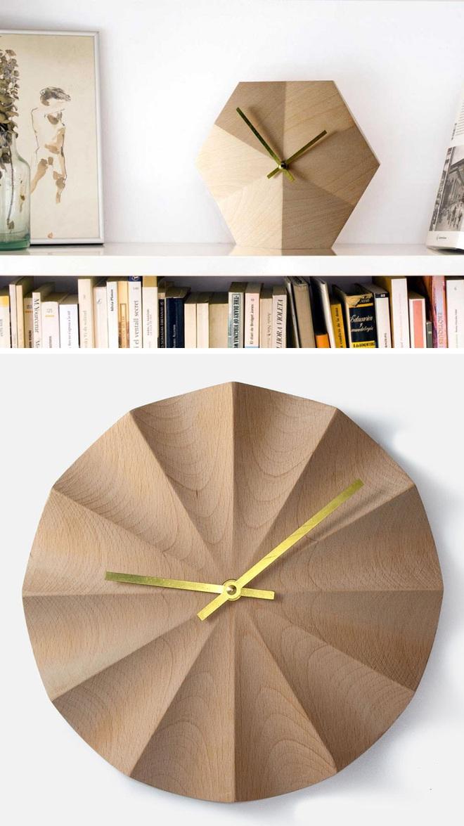14 mẫu đồng hồ đẹp hết ý dùng để trang trí nội thất - Ảnh 11.
