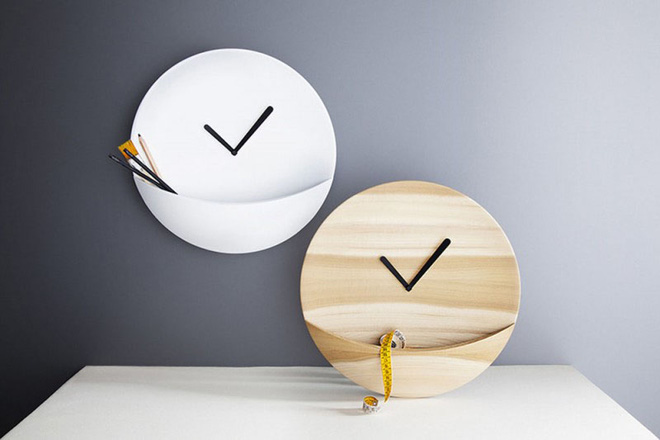 14 mẫu đồng hồ đẹp hết ý dùng để trang trí nội thất - Ảnh 12.