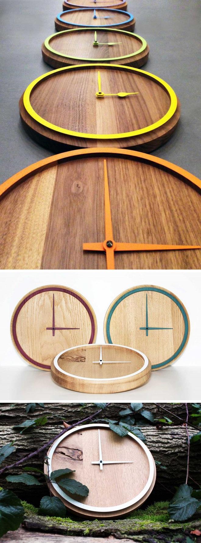 14 mẫu đồng hồ đẹp hết ý dùng để trang trí nội thất - Ảnh 13.
