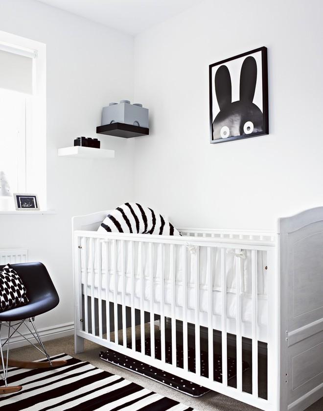 Cực đơn giản nhưng những mẫu giường cũi em bé dưới đây vẫn khiến các mẹ phải mê mẩn - Ảnh 1.