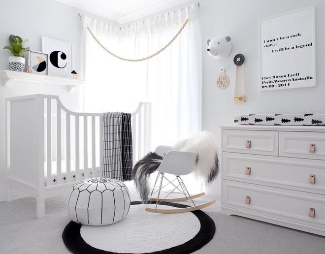 Cực đơn giản nhưng những mẫu giường cũi em bé dưới đây vẫn khiến các mẹ phải mê mẩn - Ảnh 8.