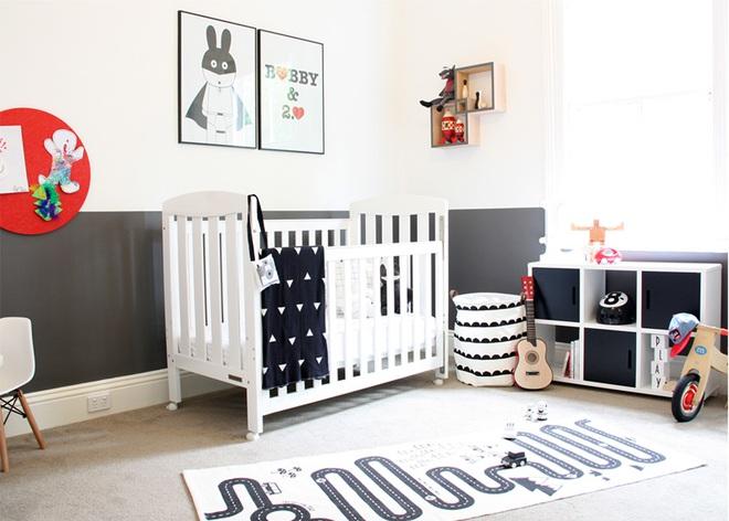 Cực đơn giản nhưng những mẫu giường cũi em bé dưới đây vẫn khiến các mẹ phải mê mẩn - Ảnh 11.