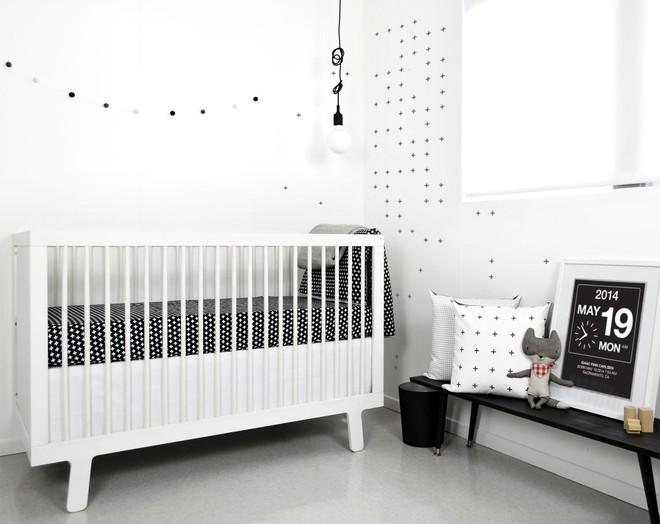 Cực đơn giản nhưng những mẫu giường cũi em bé dưới đây vẫn khiến các mẹ phải mê mẩn - Ảnh 15.