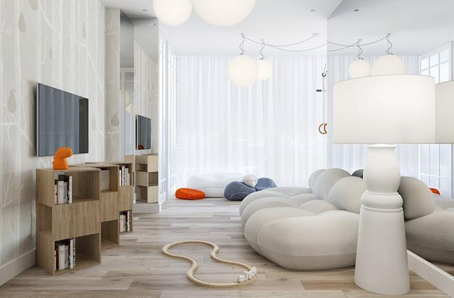 Chiêm ngưỡng không gian sống vừa đẹp vừa sang đến ngỡ ngàng của căn hộ nhỏ - Ảnh 10.