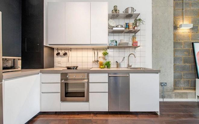 Những mẫu thiết kế đẹp, hiện đại và vô cùng tiện lợi cho nhà bếp vỏn vẹn 5m2 - Ảnh 1.