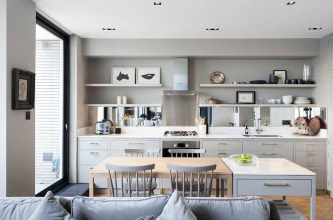 Những mẫu thiết kế đẹp, hiện đại và vô cùng tiện lợi cho nhà bếp vỏn vẹn 5m2 - Ảnh 3.