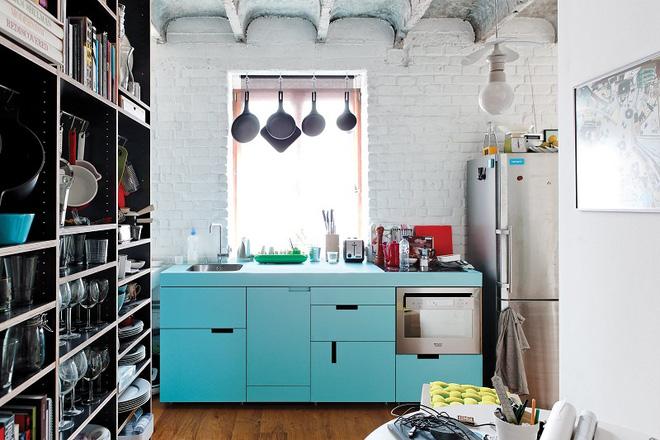 Những mẫu thiết kế đẹp, hiện đại và vô cùng tiện lợi cho nhà bếp vỏn vẹn 5m2 - Ảnh 4.