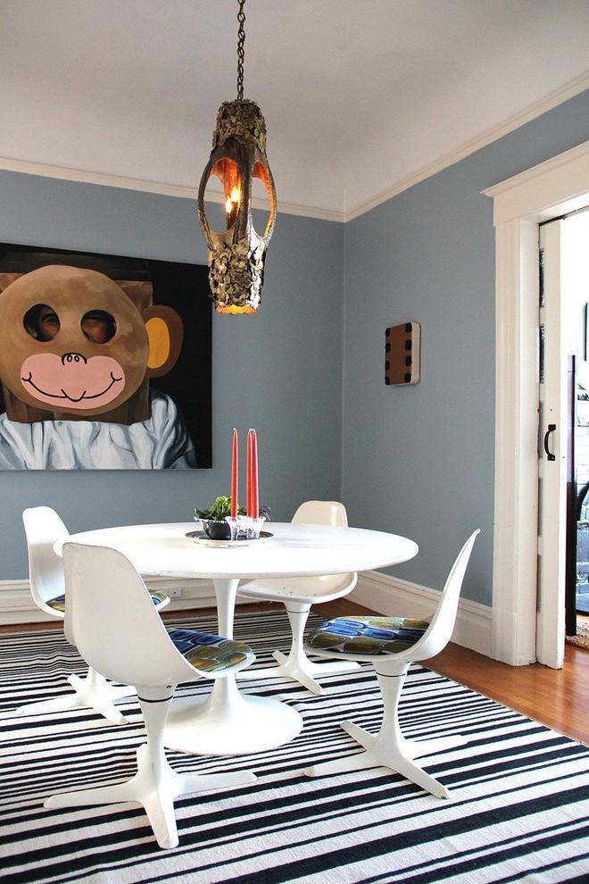 Trang trí phòng ngủ và phòng ăn sáng bừng với chiếc thảm trải sàn vô cùng đơn giản - Ảnh 10.