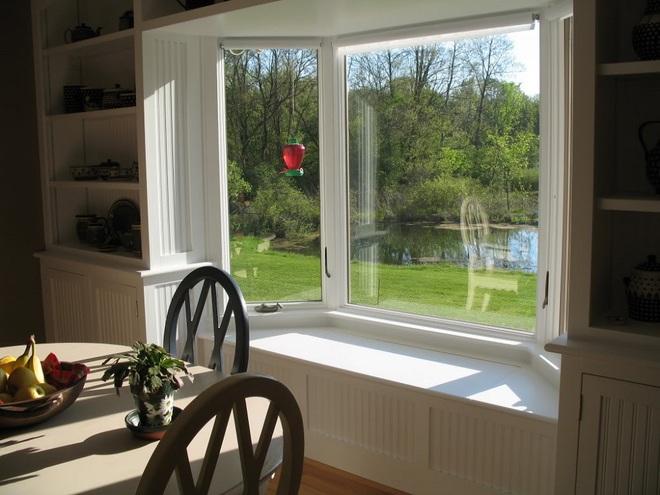 Ý tưởng thiết kế ghế bên cửa sổ: Tối giản nhưng tiện ích lớn - Ảnh 3.